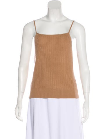 Ports 1961 Cashmere Sleeveless Top None