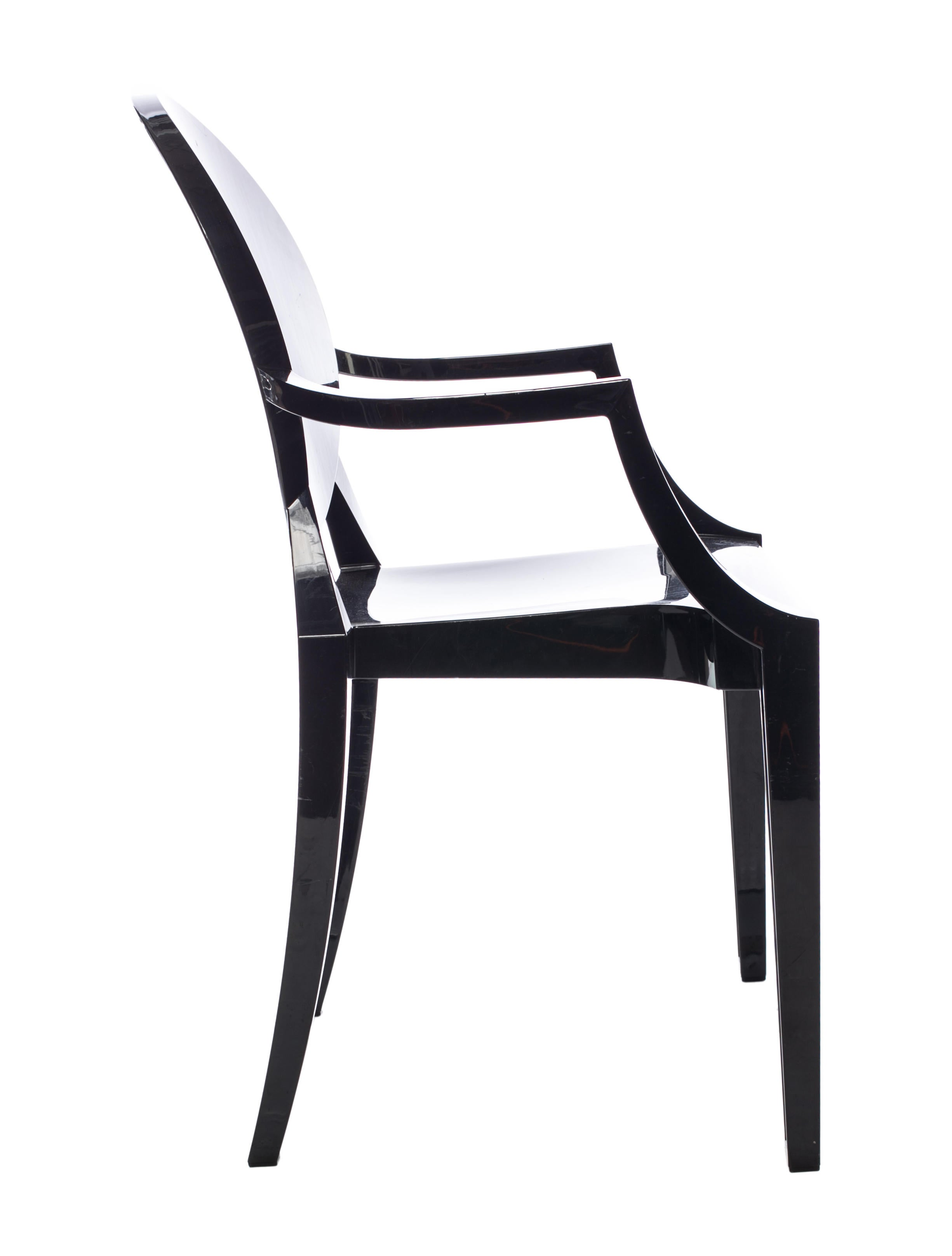 Philippe starck louis ghost chair set furniture ppe20024 the realreal for Philippe starck ghost chair
