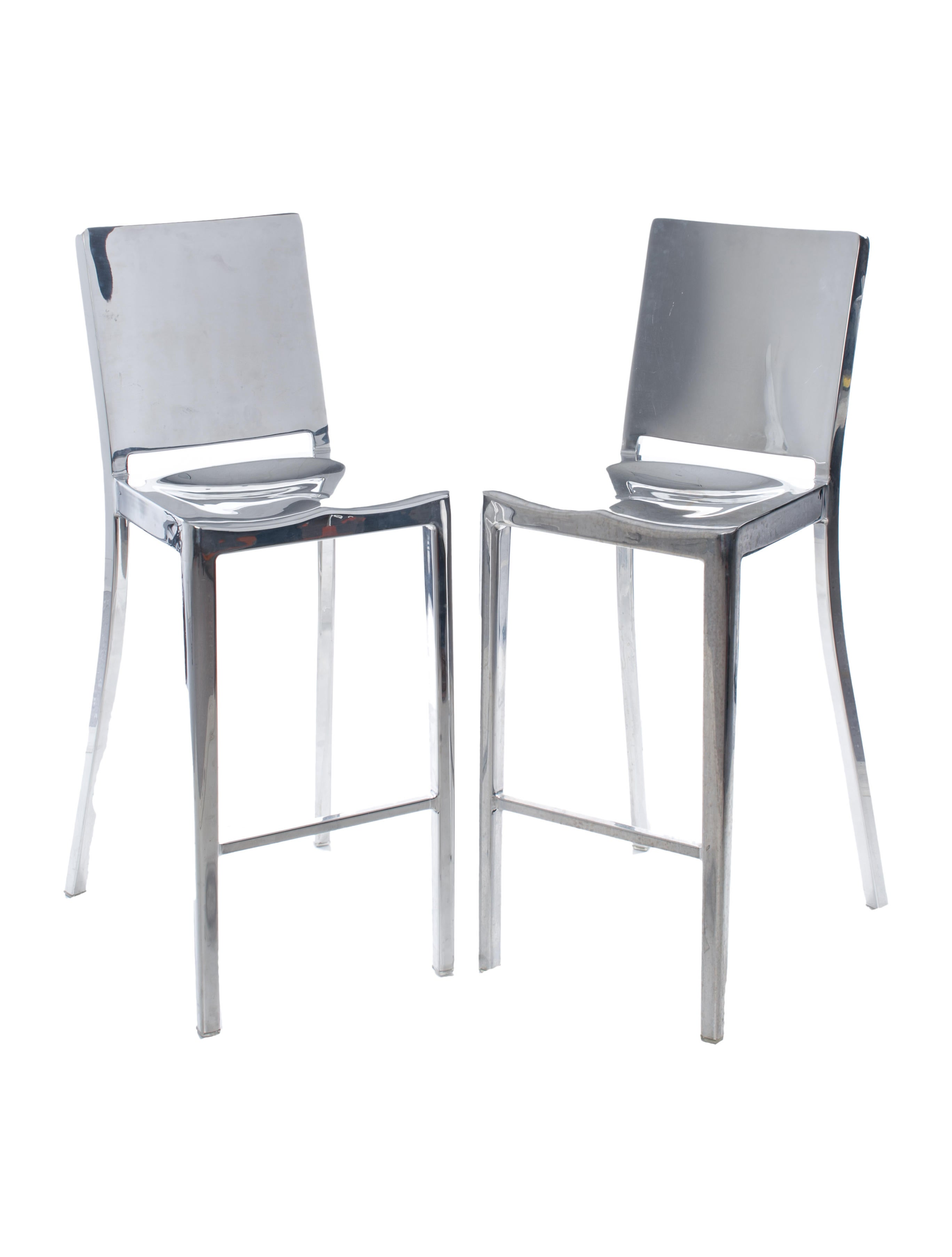 Philippe Starck Emeco Hudson Bar Stools Furniture