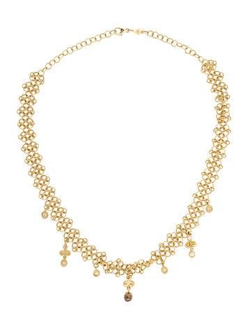 18K Diamond Collar Necklace