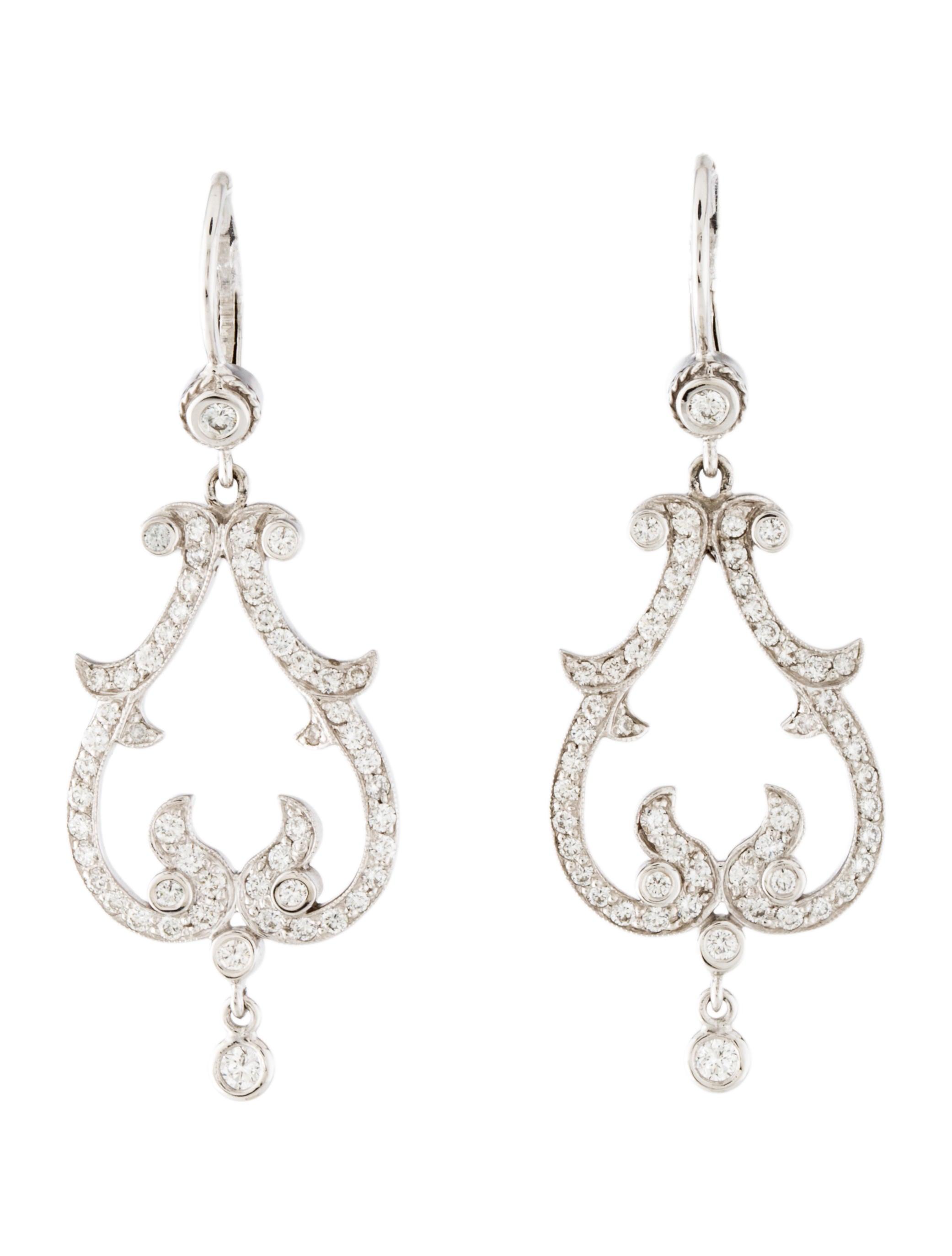 Penny preville diamond chandelier earrings earrings ppv20216 diamond chandelier earrings arubaitofo Images