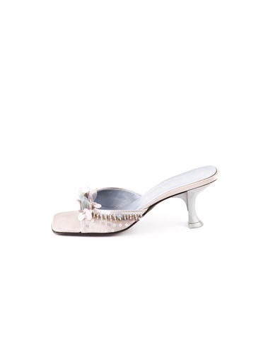 Sequined Slide Sandal