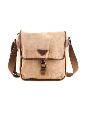 Canvas Crossbody Bag