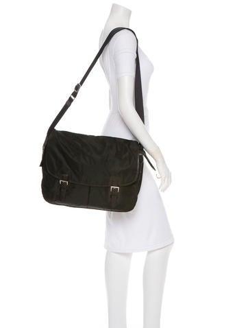Tessuto Messenger Bag
