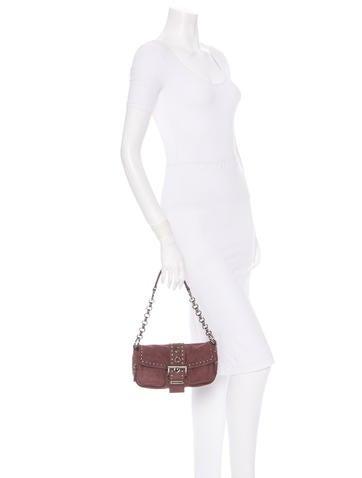 Suede Shouler Bag