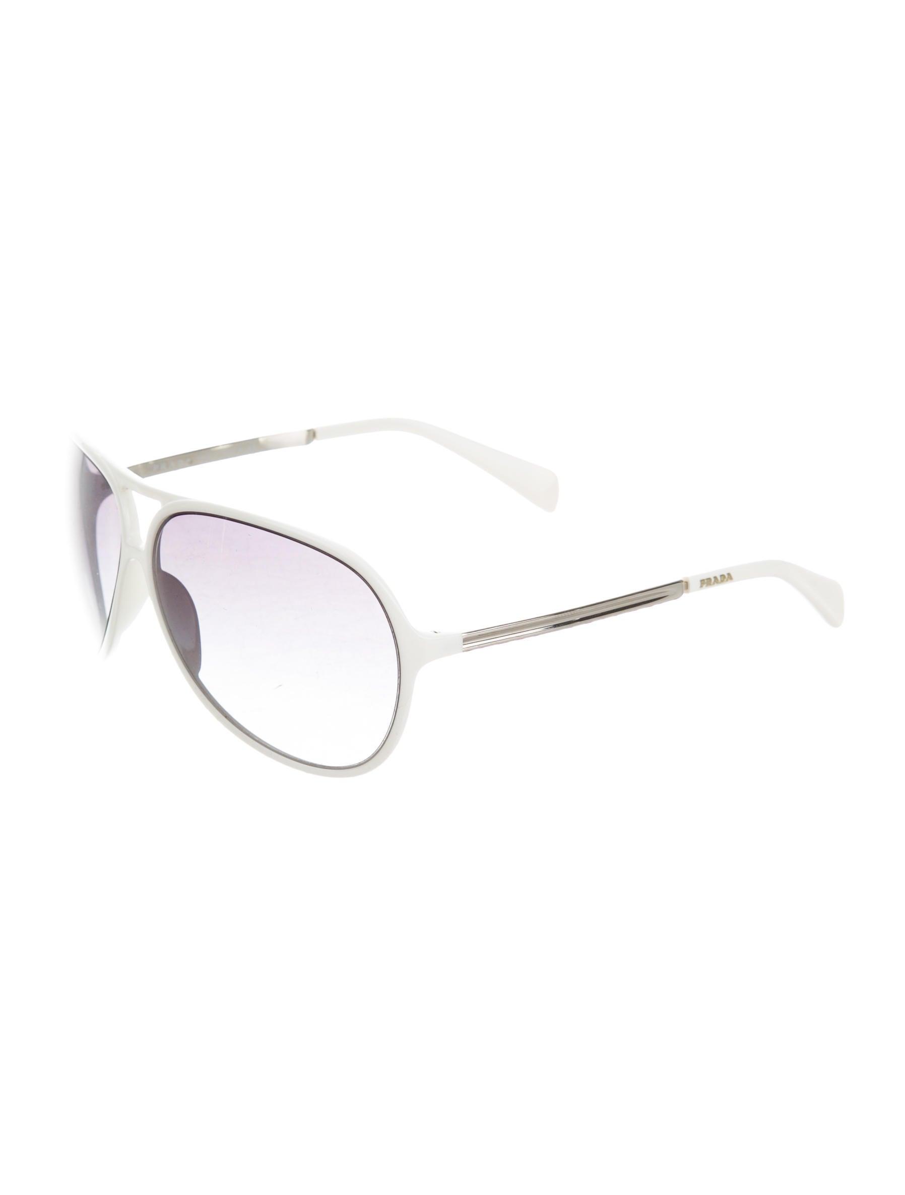 4c00f248d79b Prada Aviator Tinted Sunglasses - Accessories - PRA100152