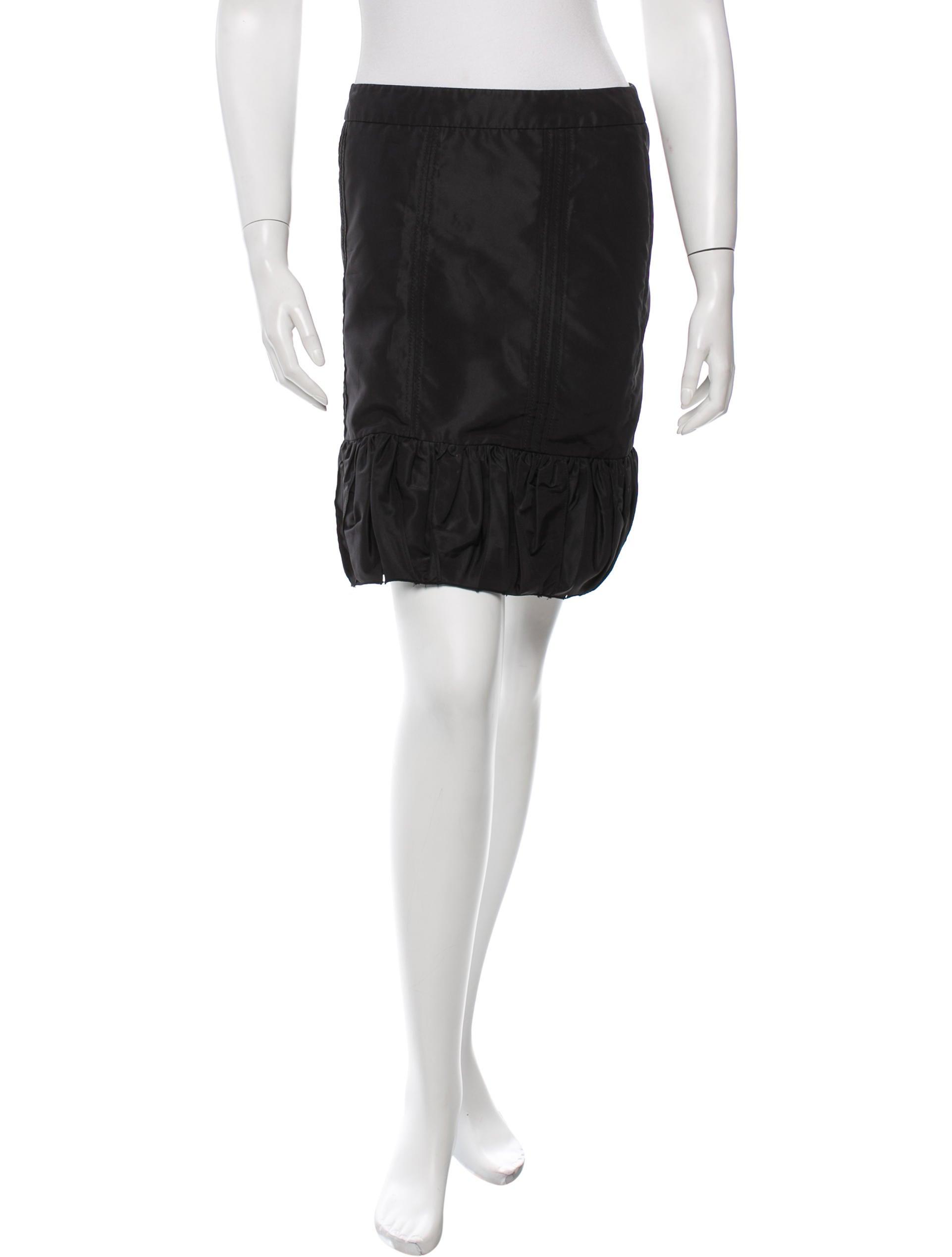 b09031e6a Prada Taffeta Mini Skirt - Clothing - PRA101543 | The RealReal