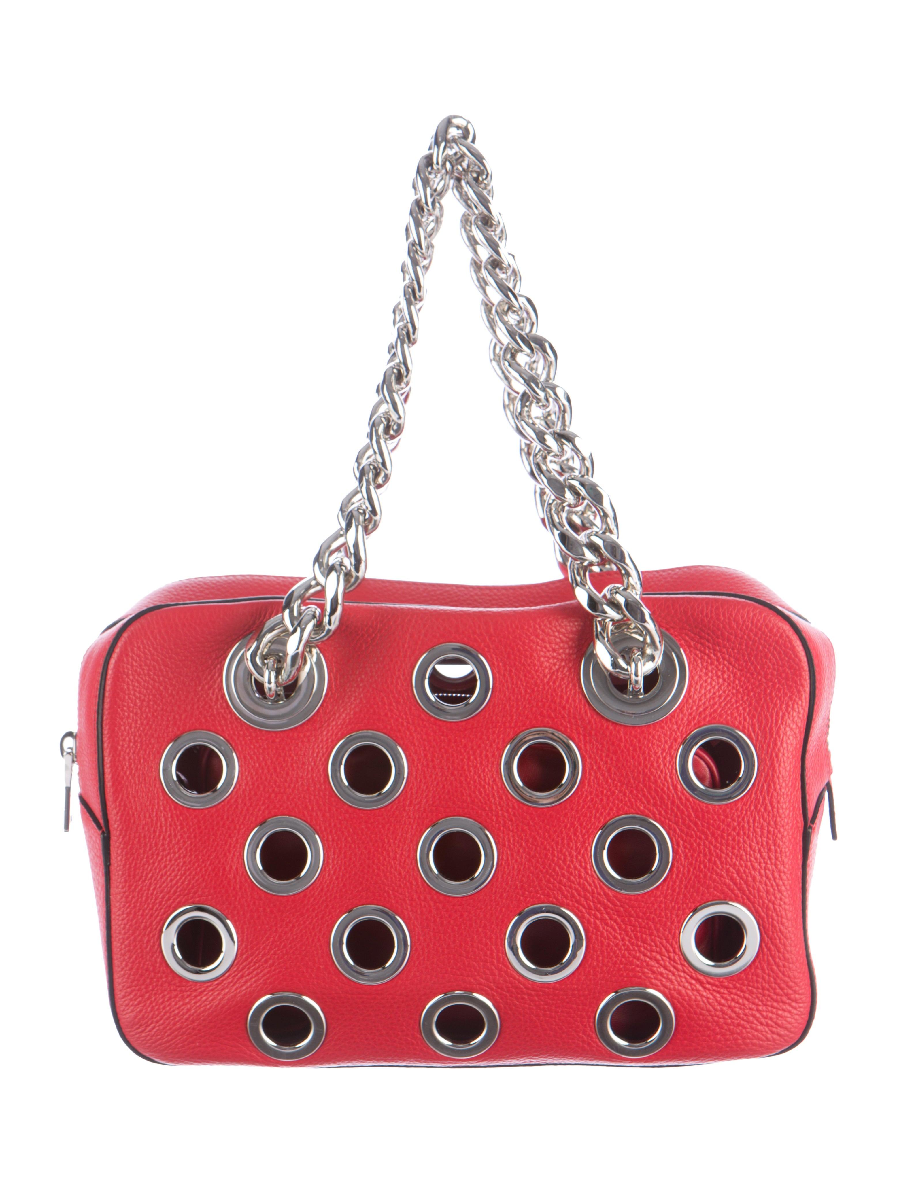 Prada 2016 Vitello Daino Bauletto Bag - Handbags - PRA101880  c14af3feab6eb