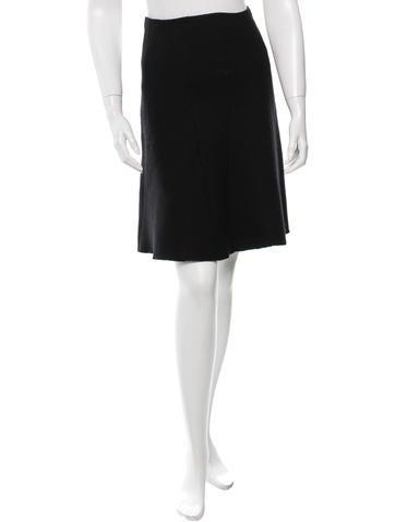 Prada A-line Knee-Length Skirt None