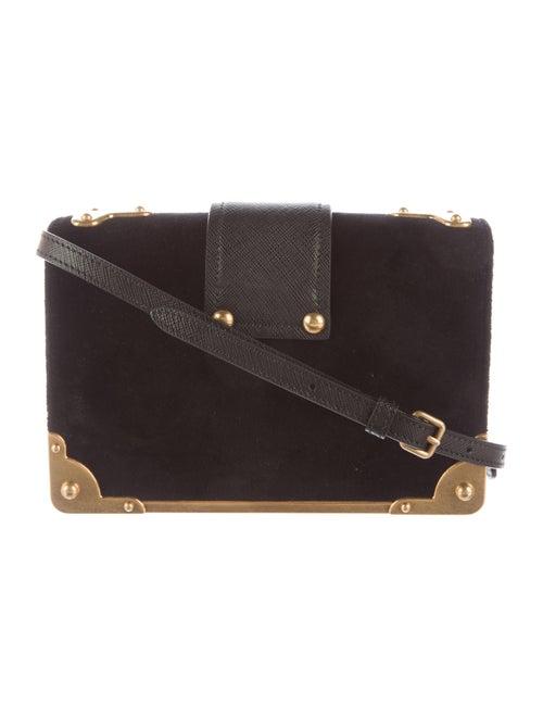 893a22a978c6 Prada Small Velvet Astrology Cahier Bag - Handbags - PRA102603