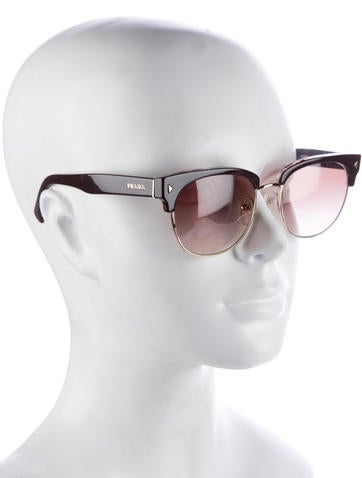 Gradient Clubmaster Sunglasses