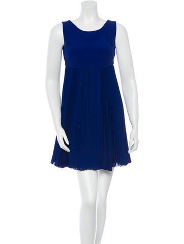 Prada Pleated Mini Dress w/ Tags