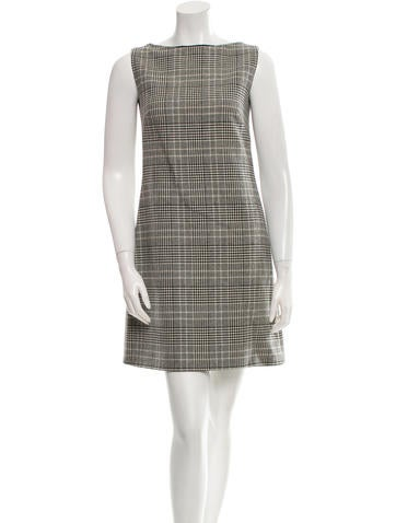 Prada Sleeveless Shift Dress None