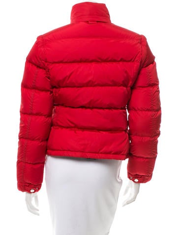 Funnel Neck Puffer Coat