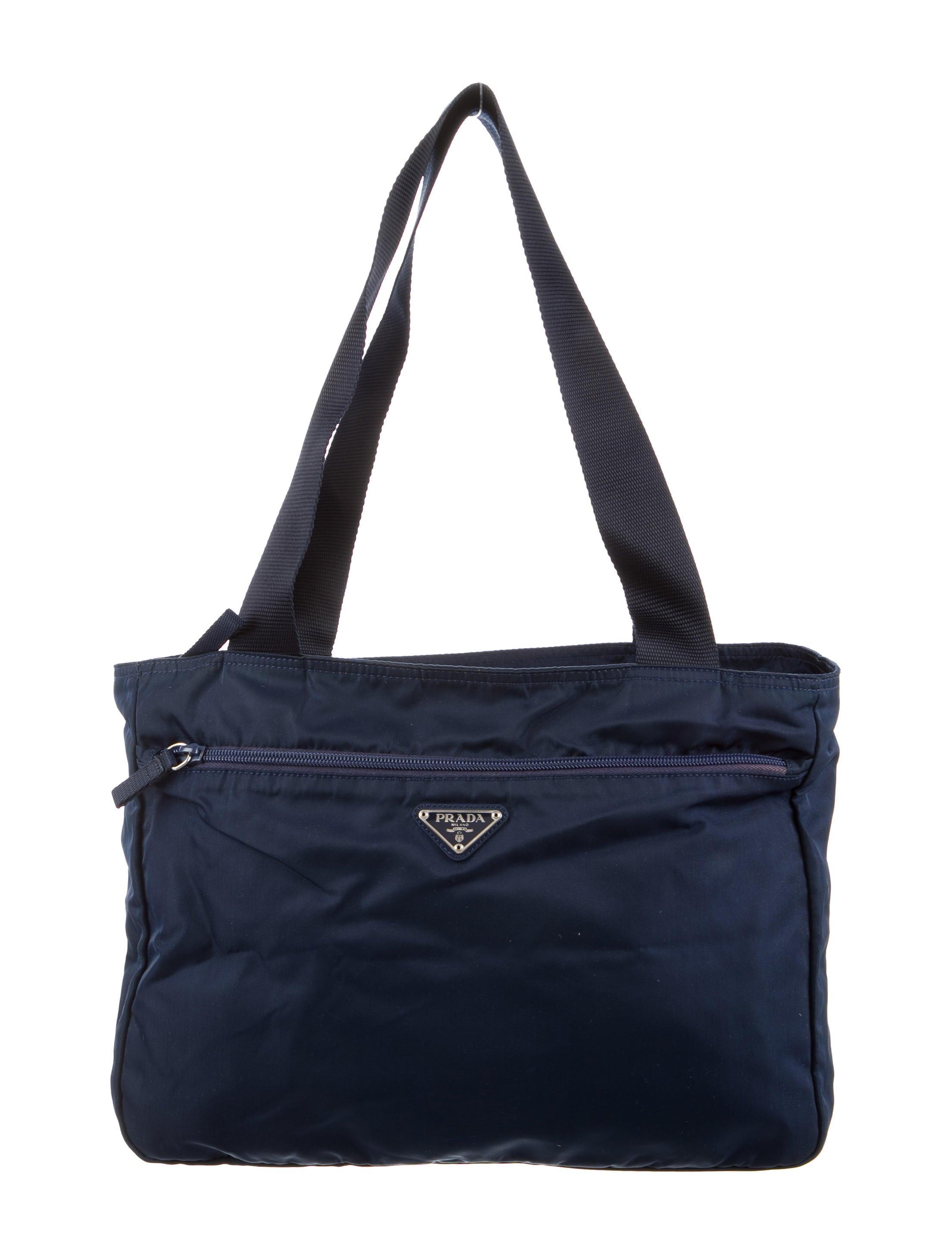 8ea374b9f095 Prada Vela Nylon Shoulder Bag - Handbags - PRA110835