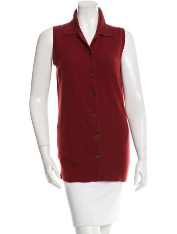 Prada Cashmere Button-Up Top None