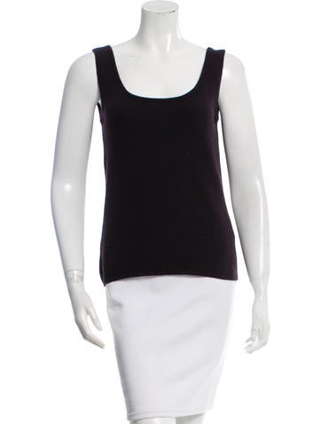 Prada Sleeveless Knit Top None
