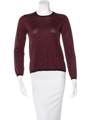Prada Striped Wool Sweater None