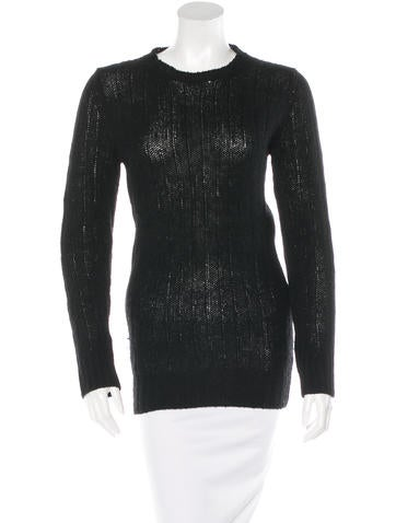 Prada Rib Knit Wool Sweater None