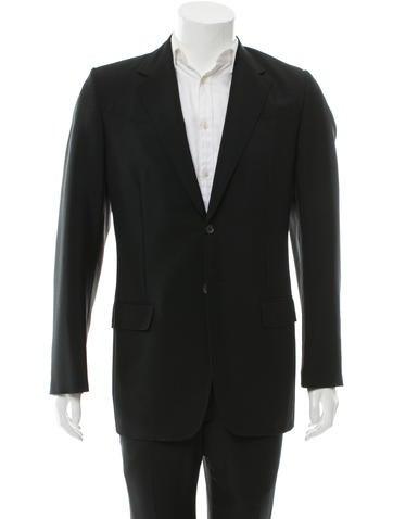 Prada Mohair Wool-Blend Blazer None