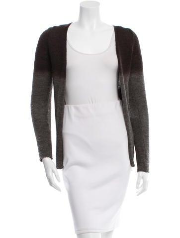 Prada Wool & Alpaca Ombré Sweater None