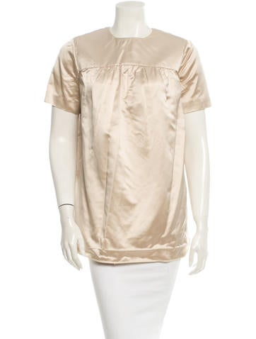 Prada Silk Top None