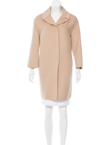 Prada Virgin Wool-Blend Coat w/ Tags None