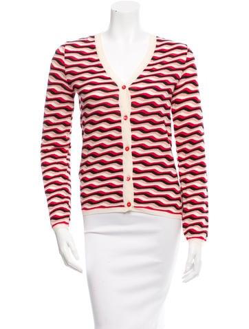 Prada Wool Striped Cardigan None