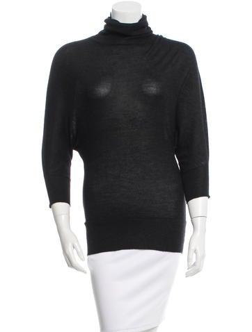 Prada Knit Turtleneck Sweater None