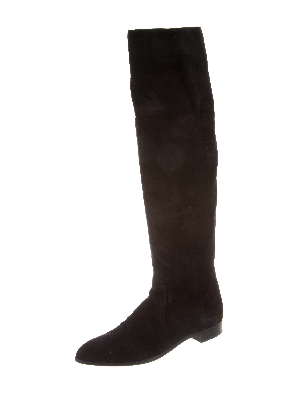 prada suede the knee boots shoes pra116497 the
