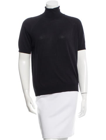 Prada Wool & Silk-Blend Top None