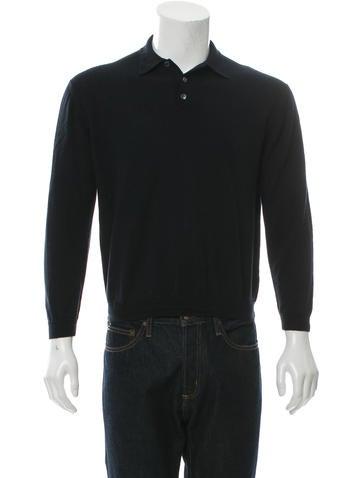 Prada Wool Polo Sweater None