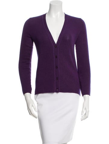 Prada Cashmere & Silk-Blend Cardigan None