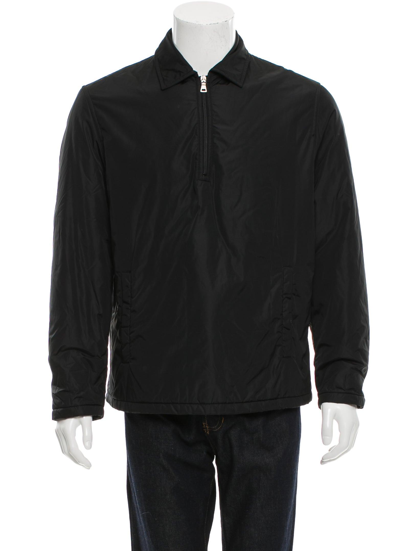prada pullover half zip jacket clothing pra119094. Black Bedroom Furniture Sets. Home Design Ideas