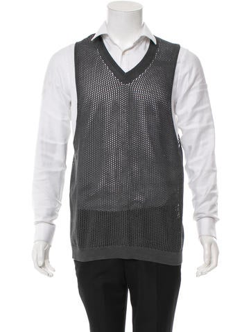 Prada Silk Pullover Knit Vest None