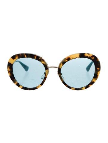 Prada Totoiseshell Oversize Sunglasses