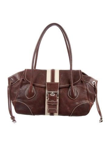 Prada Cervo Antik Shoulder Bag