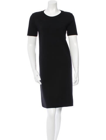 Prada Wool Knee-Length Dress None
