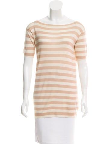 Prada Wool Striped Top None