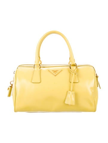 Saffiano Vernice Bauletto Bag