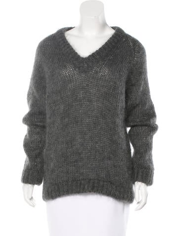 Prada Mohair Oversize Sweater None