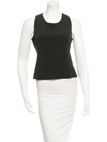 Prada Sleeveless Top None