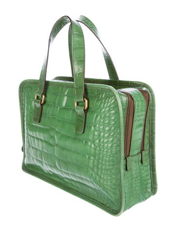 Alligator Handle Bag