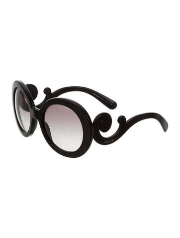 Oversize Baroque Sunglasses