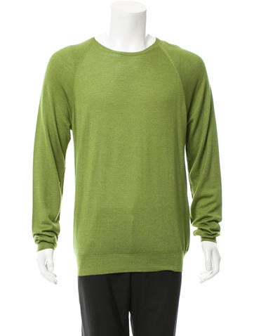 Prada Wool & Silk-Blend Sweater w/ Tags None