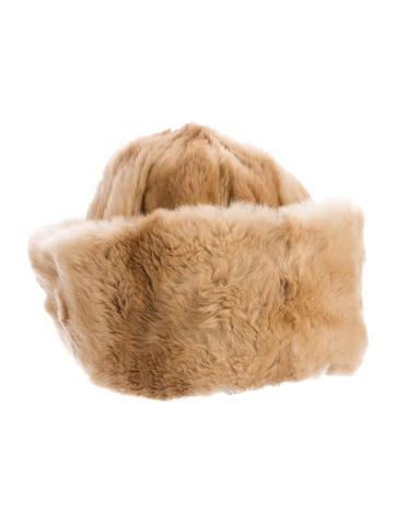 Prada Kolinsky Fur Beanie None