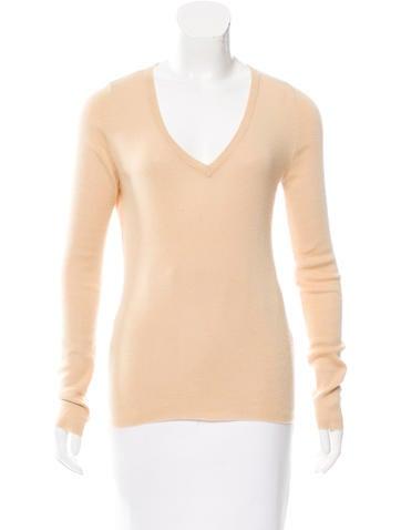 Prada Knit Cashmere Top None