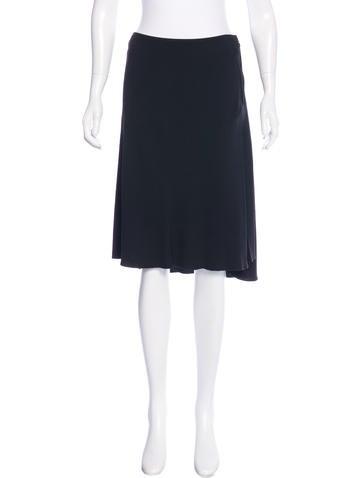 Prada Knee-Length A-Line Skirt None