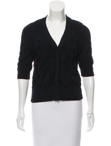 Prada Wool Knit Cardigan None
