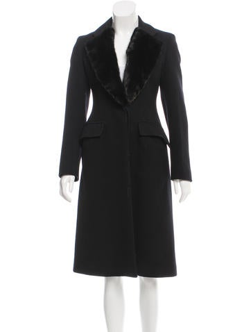 Prada Wool Long Coat None